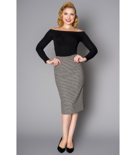 LUCY SKIRT DOG TOOTH SMALL