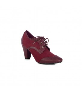 MARTHA HEEL BURGUNDY