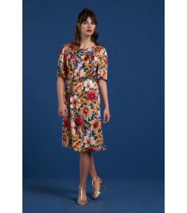 holly dress aquarelle