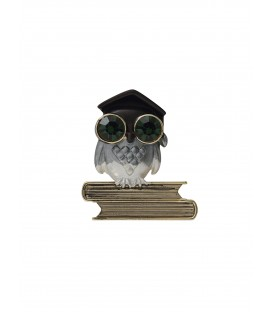 SMARTER THAN YOU BROOCH