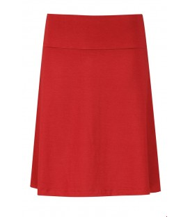 SKIRT A LINE 12EVI50.38 ROUGE